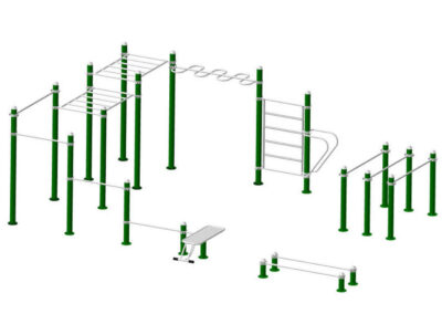 Parque de calistenia 2002: estructura
