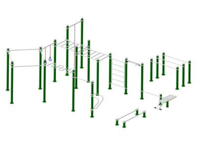 Circuito Calistenia 2003: estructura